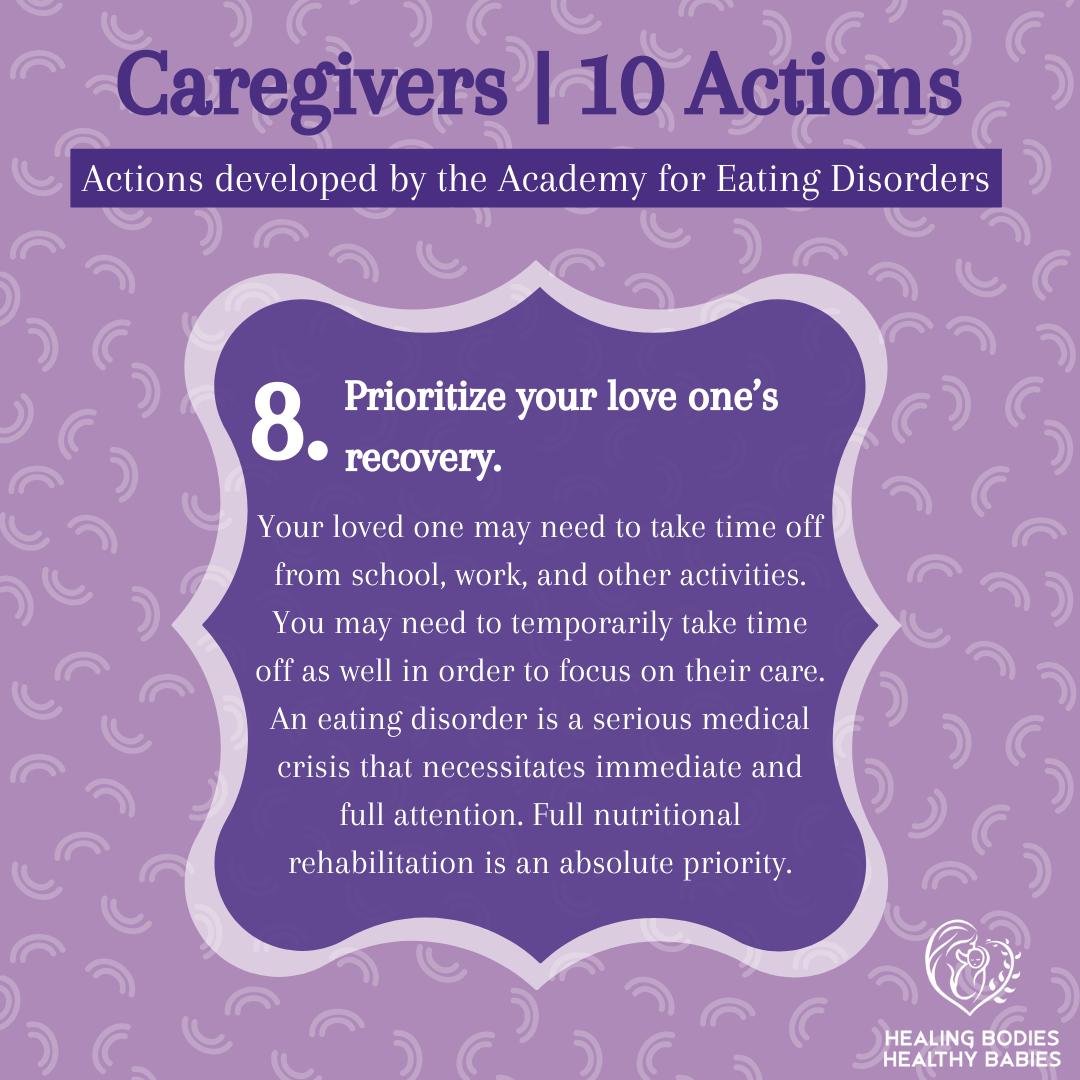 Caregivers - Action 8