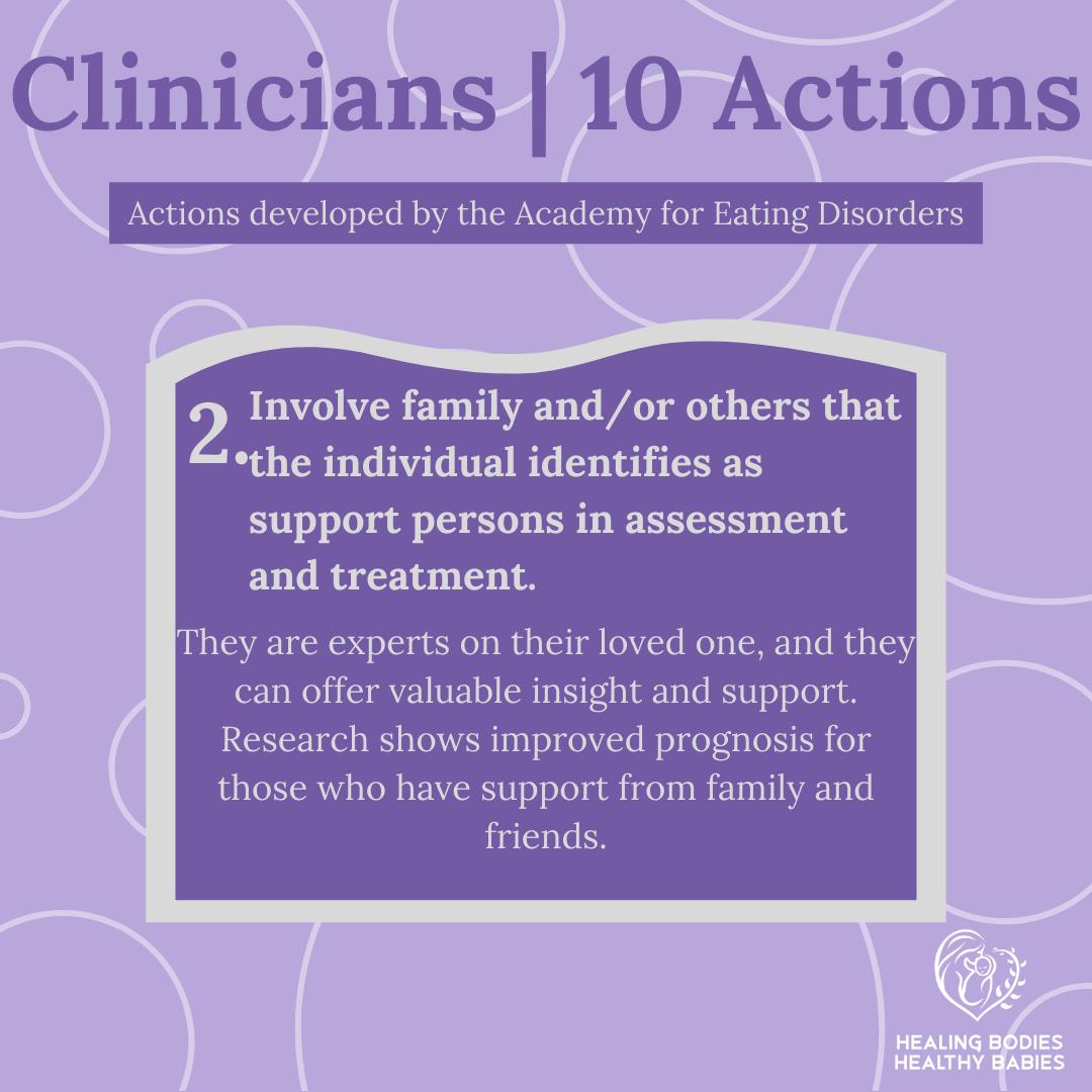 Clinicians - Action 2
