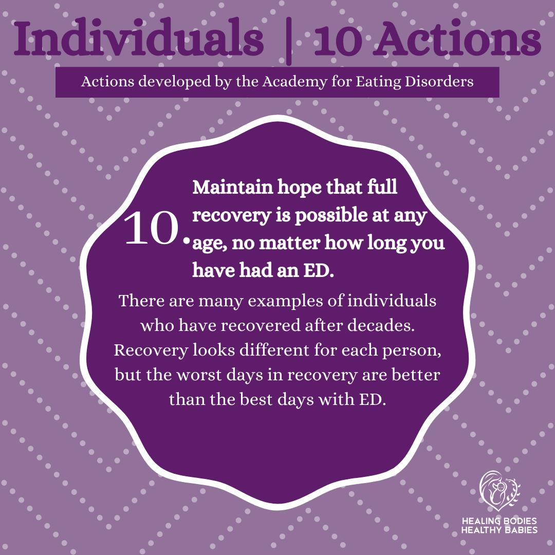 Individuals Action 10
